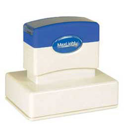 Maxlight XL 225 Pre Inked Rubber Stamp