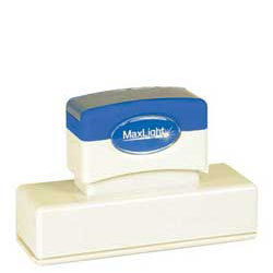 Maxlight XL 265 Pre Inked Rubber Stamp