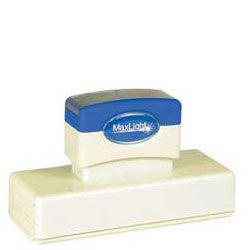 Maxlight XL 720 Pre Inked Rubber Stamp