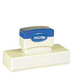 Maxlight XL 750 Pre Inked Rubber Stamp