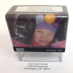 2000 Plus Printer 40 Photo Stamp KIT