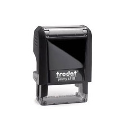 Trodat Printy 4910 Self Inking Rubber Stamp