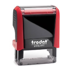 Trodat Printy 4911 Cloth Marking Stamp