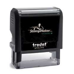 Trodat Printy 4915 Self Inking Rubber Stamp