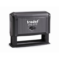 Trodat Printy 4918 Self Inking Rubber Stamp