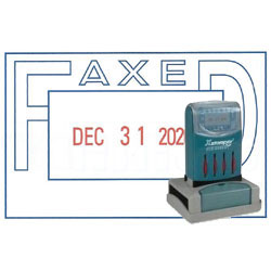 XStamper FAXED Stamp