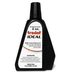 Trodat Ideal Stamp Ink - 2 ounce