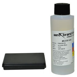 KIT - Ultraviolet #6330 Ink with Stamp Pad Size #1