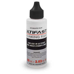 UltiFast Quick Dry Stamp Ink 2 oz ULTIFAST_INK_2OZ