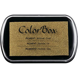 ColorBox Ink Pad - Gold