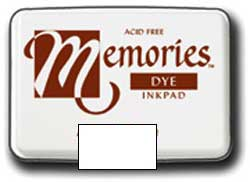 Memories Dye Stamp Pad White