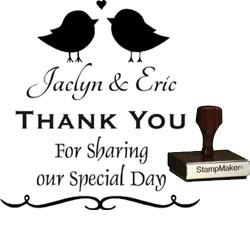 Wedding Stamp - Thank You Large - 12B