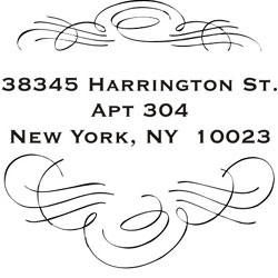 Monogram Wedding Stamp WSM-3