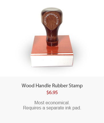 Wood Handle Stamp