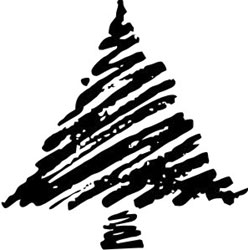 C7 Chistmas Tree Stamp